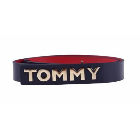 Pasek Tommy Hilfiger Metal