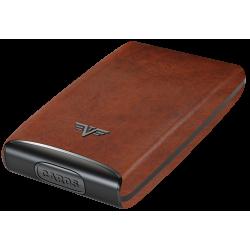 Portfel Tru Virtu Credit Card Case FAN Leather Line Carbon Black