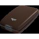 Portfel Tru Virtu Cash & Cards Leather Line Croco Brown