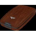 Portfel Tru Virtu Cash & Cards Leather Line Natural Brown
