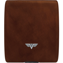 Portfel Tru Virtu Money & Cards Leather Line Nappa Brown