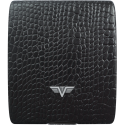 Portfel Tru Virtu Money & Cards Leather Line Croco Brown