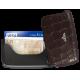 Tru Virtu Card Case Leather Carbon Black