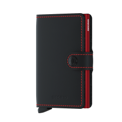 Portfel Secrid Miniwallet Matte Black&Red