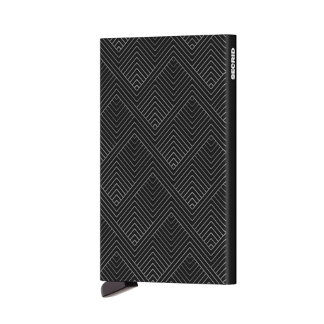 Portfel Secrid Cardprotector Structure Black