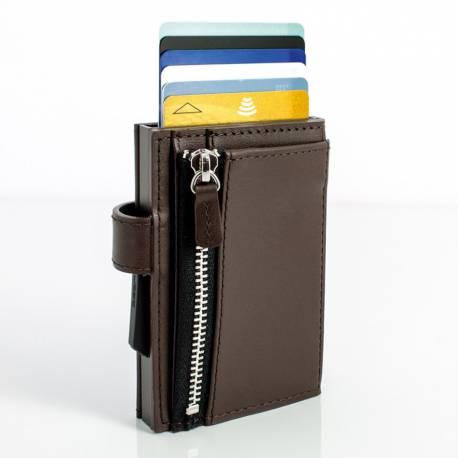 Portfel Ögon Design Cascade Snap Zipper