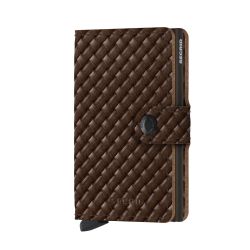Portfel Secrid Miniwallet Basket Brown
