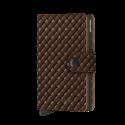 Portfel Secrid Miniwallet Basket Brown