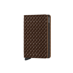 Portfel Secrid Slimwallet Basket Brown