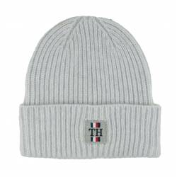 Czapka Tommy Hilfiger TH Plaque Beanie