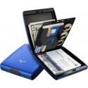 Portfel Tru Virtu Money & Cards Classic Line Blue Ocean