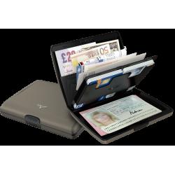 Portfel Tru Virtu Papers & Cards Silk Line Grey