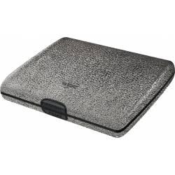 Portfel Tru Virtu Papers & Cards Leather Line Silver Stone