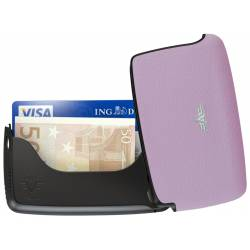 Portfel Tru Virtu Card Case Leather Line Lilac
