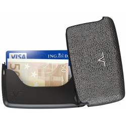 Portfel Tru Virtu Card Case Leather Silver Stone