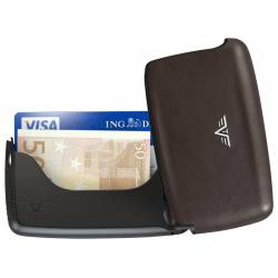 Portfel Tru Virtu Card Case Leather Nappa Brown