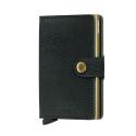 Portfel Secrid Miniwallet Rango Green-Gold