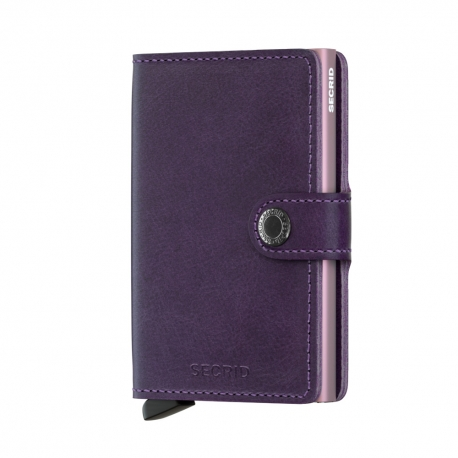 Portfel Secrid Miniwallet Original Purple 2D