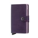 Portfel Secrid Miniwallet Original Purple 2D Pink