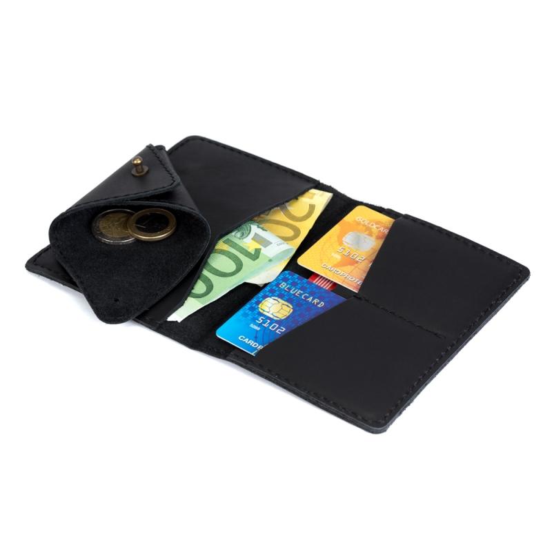 3567b84d24ee SKÓRZANY cienki portfel + bilonówka CECHINI - SlimWallet.pl