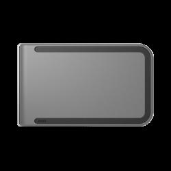 Portfel Dosh RFID Luxe Clooney - Black + Grey