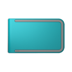 Portfel Dosh RFID Luxe Azure - Grey + Teal