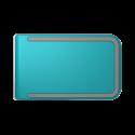 Portfel Dosh RFID Luxe Azure
