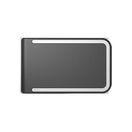 Portfel Dosh RFID Piano - White + Black