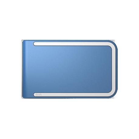 Portfel Dosh Luxe Concord - White + Denim Blue