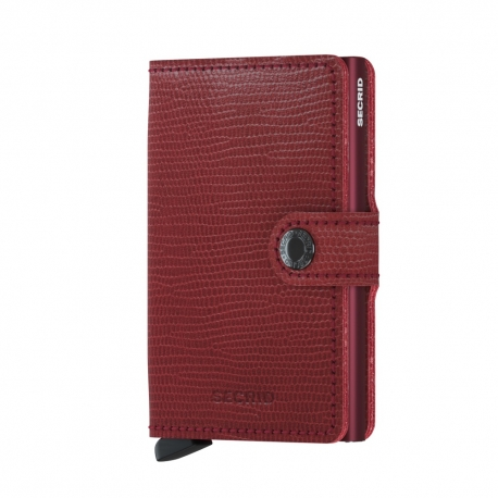 Portfel Secrid Miniwallet Rango Red-Bordeaux