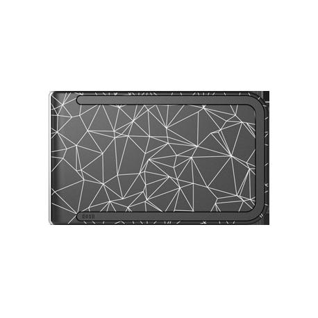 Portfel Dosh Luxe Azure - Grey + Teal