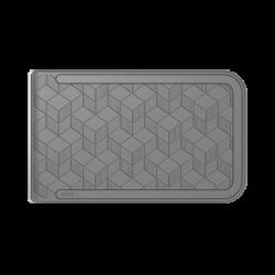 Portfel Dosh Embossed Cubic - Grey + Grey